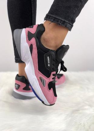 Кроссовки adidas falcon pink