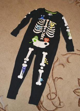 Кигуруми,слип, пижама,человечек marks&spencer р.5-6 лет 116 см