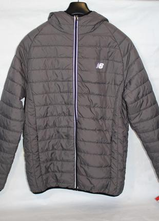 New balance hooded puffer jacket