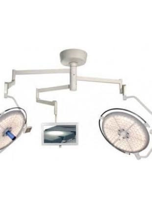 Лампа операционная подвесная PANALEX PLUS 700/700 HD (двухкупо...