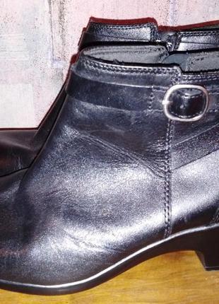 Кожаные ботинки clarks, 41р