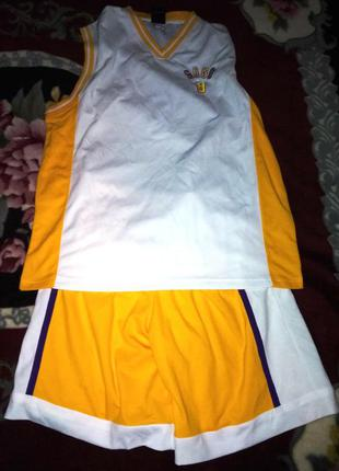 Спортивный костюм gogo, шорты+майка, 54р