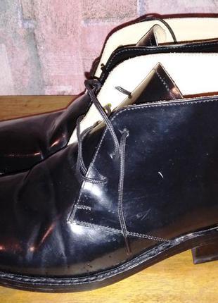 Кожаные ботинки samuel windsor, 41р