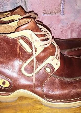 Кожаные ботинки 310, б\у, 43р