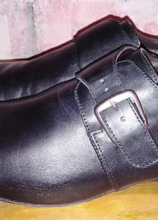 Кожаные туфли clarks,45р