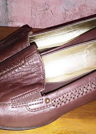 Кожаные туфли clarks, 38р