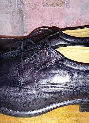 Кожаные туфли clаrks, 42р