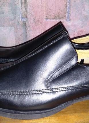 Кожаные туфли george, 44р