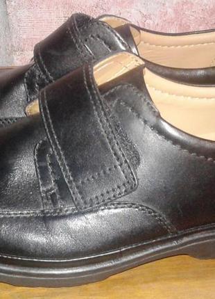 Кожаные туфли clarks, 43р
