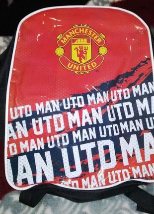 Детский рюкзак fc manchester united
