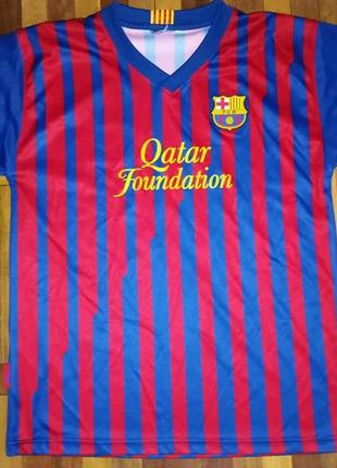Футболка fc barcelona, месси, 44-46р
