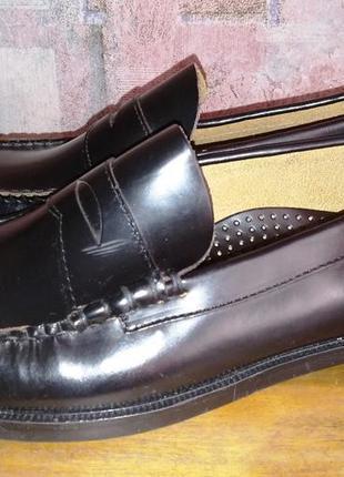 Кожаные туфли sebago, 44-45р
