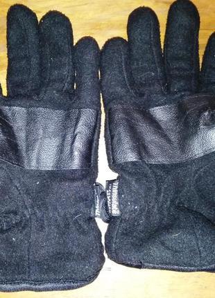 Спортивные флисовые перчаткиthinsalute