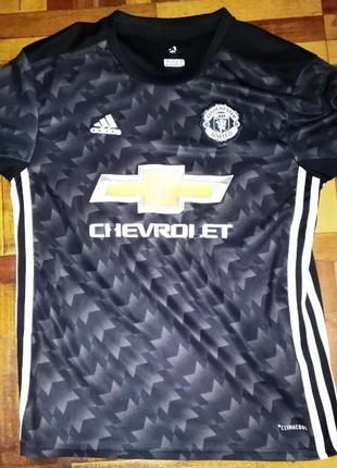 Футболка fc manchester united, adidas, 135-145см