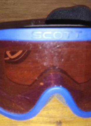 Подростковая горнолыжная маска scott