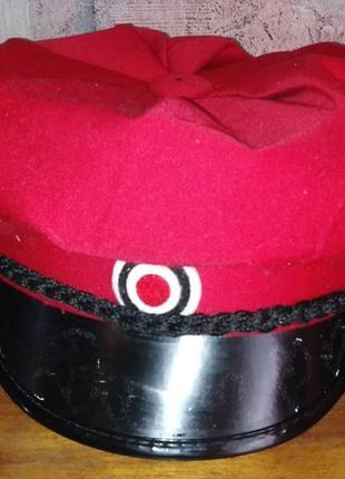 Костюмированная военная кепка