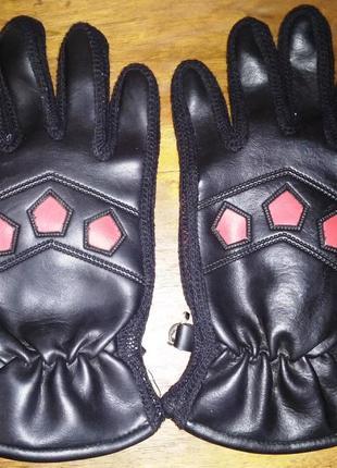 Мужские перчатки кожзам