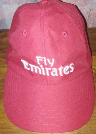 Летняя бейсболка fly emirates