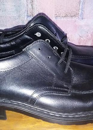 Кожаные туфли rieker