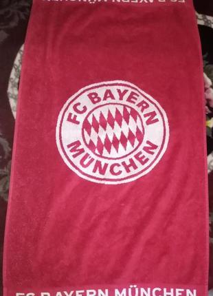 Полотенце с символикой fc bayren munchen