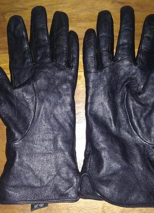Кожаные женские перчатки p