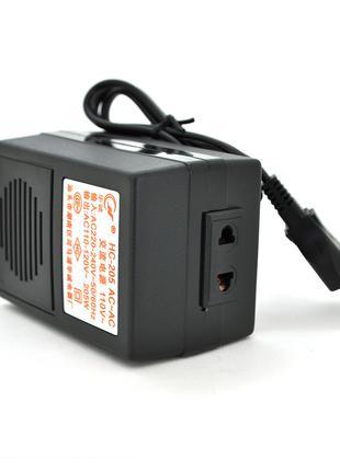 Преобразователь напряжения 205W Input 220 V/Output 110V, + уни...
