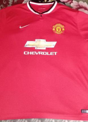 Футболка fc manchester united, nike
