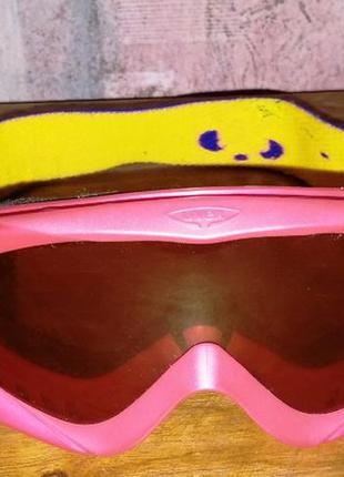 Горнолыжная детская маска uvex