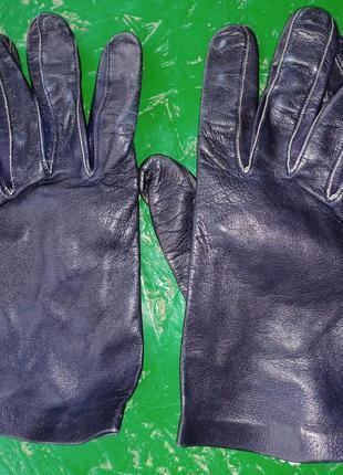 Кожаные демисезонные перчатки jaimback