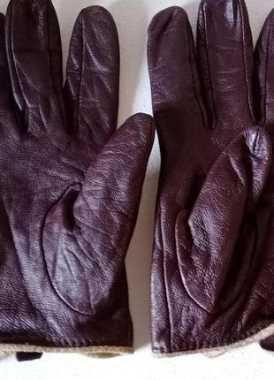 Кожаные перчатки carder london