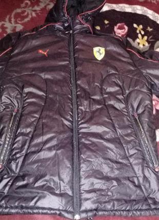 Оригинальная куртка puma ferrari