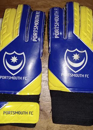 Детские вратарские перчатки sondico fc portsmouth,
