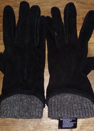 Женские перчатки esmara, натуральный замш