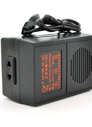 Преобразователь напряжения трансформаторный 500W Input 220 V/O...