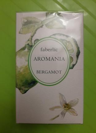 Туалетная вода faberlic aromania bergamot