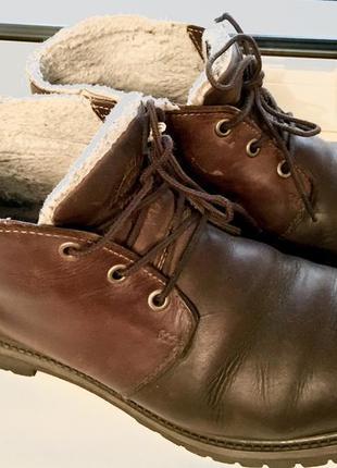 Мужские зимние неубиваемые ботинки timberland