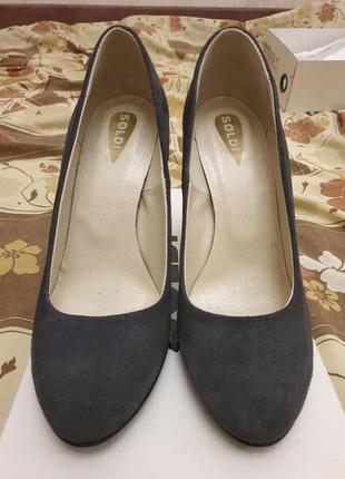 Туфли лодочки шанель на высоком каблуке солди soldi