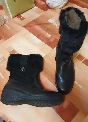 Женские зимние ботинки на меху rieker 37 р.