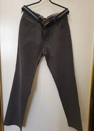 Мужские брюки джинсы с ремнем w36l31