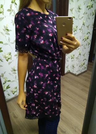Платье сарафан туника очень красивое легкое размер 8-10