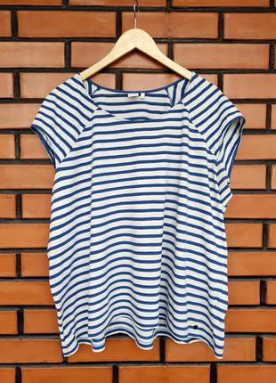 Полосатая футболка в морском стиле s.oliver