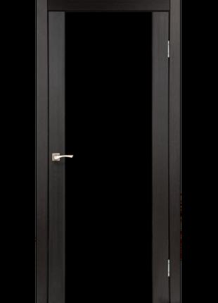 Міжкімнатні Двері з Чорним Склом