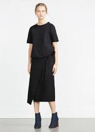 Черная блузочка