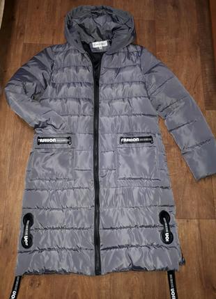Пальто удлиненное