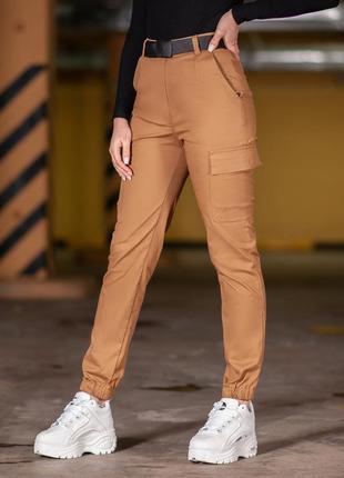 Карго брюки женские bezet eva '20