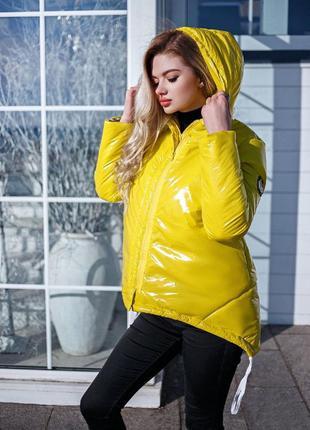 Женская куртка плащевка монклер