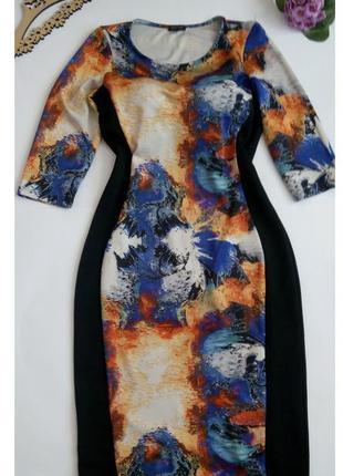Платье 48 50 размер футляр офисное нарядное vip top повседневн...