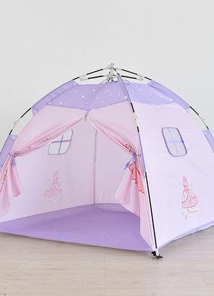 Детская игровая палатка Lesko AJ201908 Pink Princess домик для...