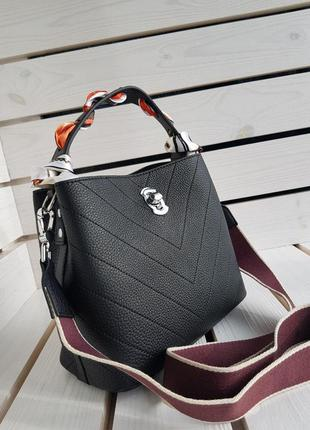 Кожаная сумка супер качества