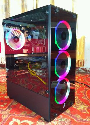 Игровой ПК/Xeon E5440/ОЗУ-8/GTX650Ti-2gb/SSD120/HDD-500/Б/П-650wt